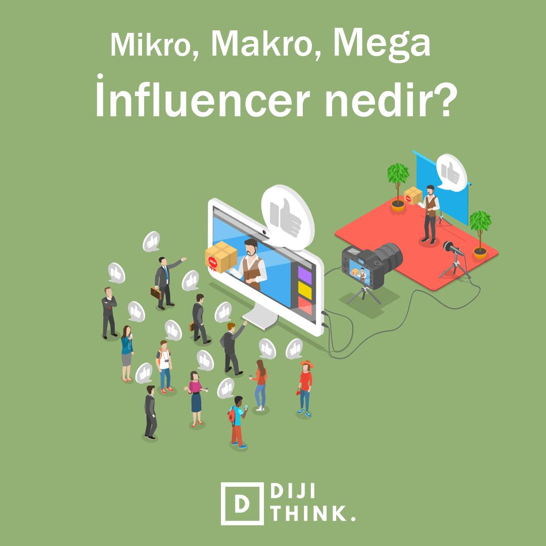 İnfluencer Nedir? Nano, Mikro, Mega ve Makro influencer